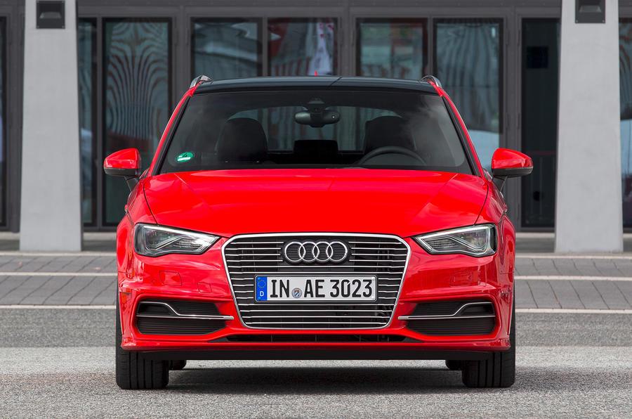 Audi A3 e-tron front end
