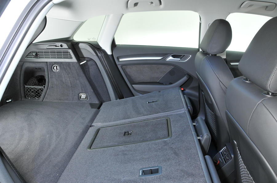 Audi A3 Sportback extended boot space