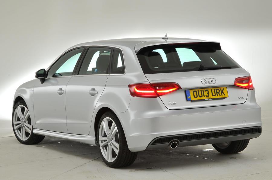 Audi A3 Sportback rear quarter