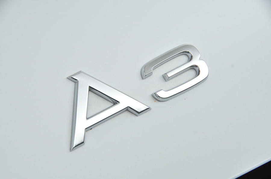Audi A3 Saloon badging