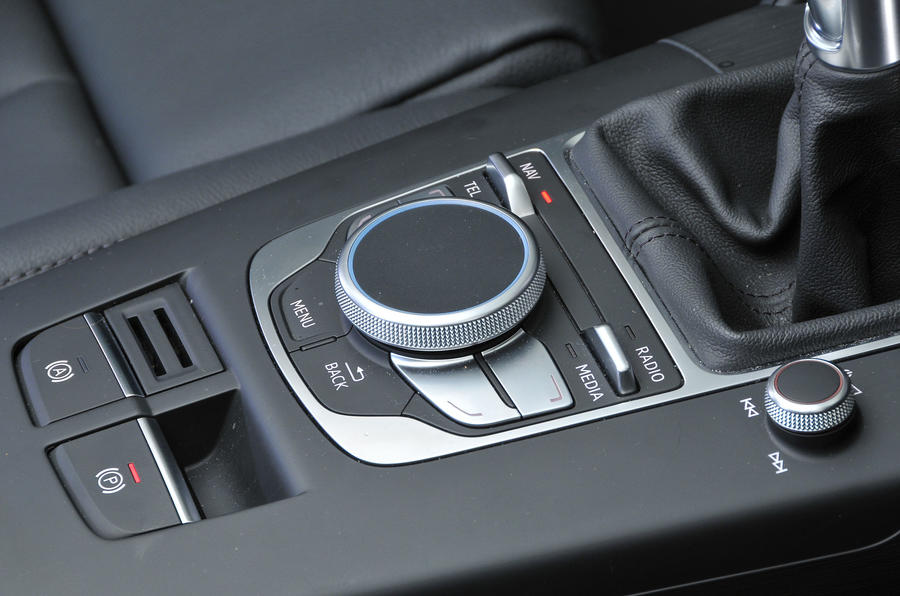 Audi A3 Saloon MMI controller