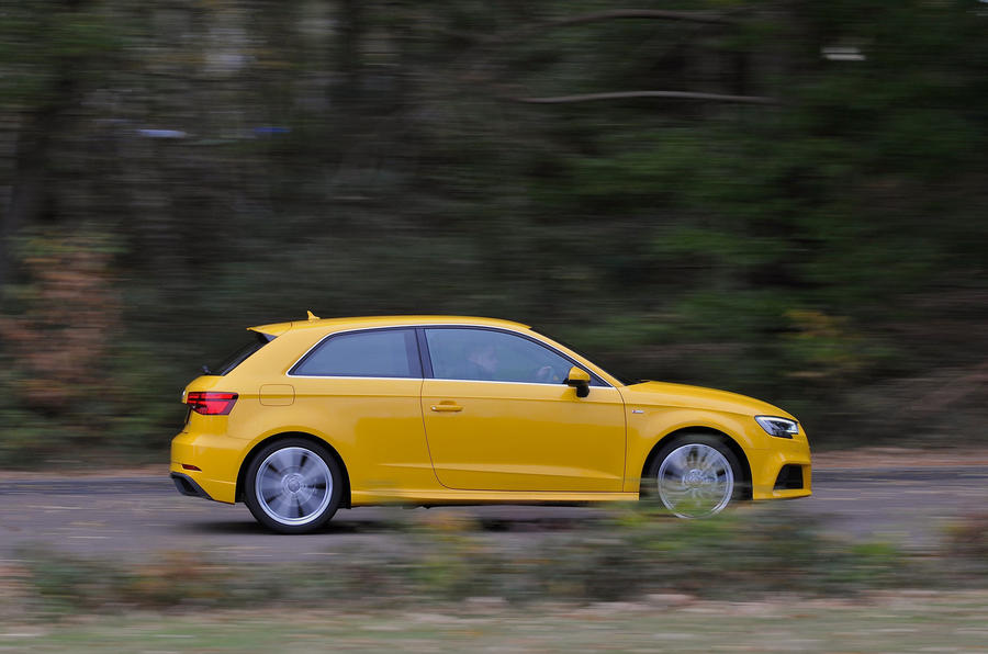 Audi A3 side profile