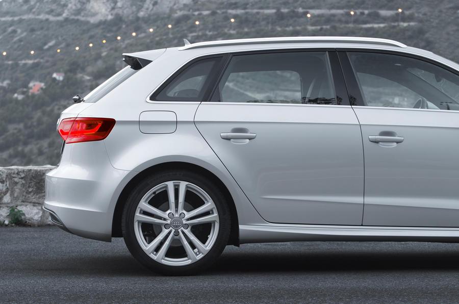 Audi A3 Sportback rear end