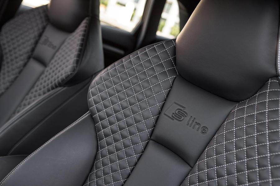 Audi A3 S-line sport seats
