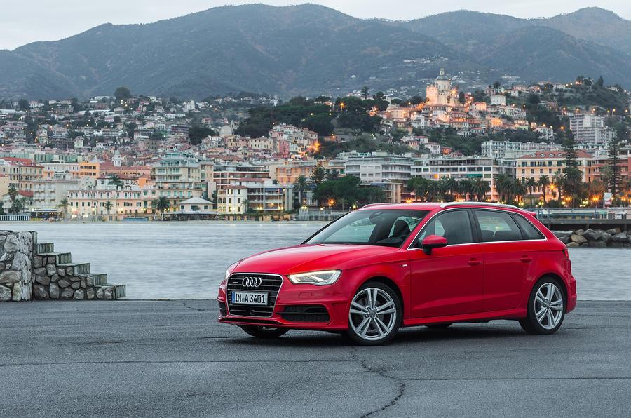 Audi A3 Sportback front quarter