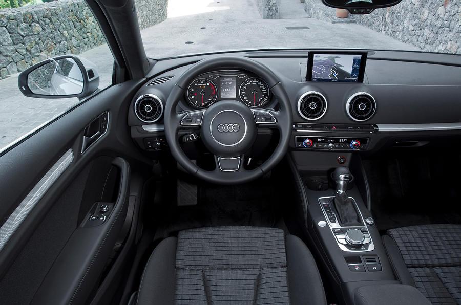 Audi A3 Sport dashboard