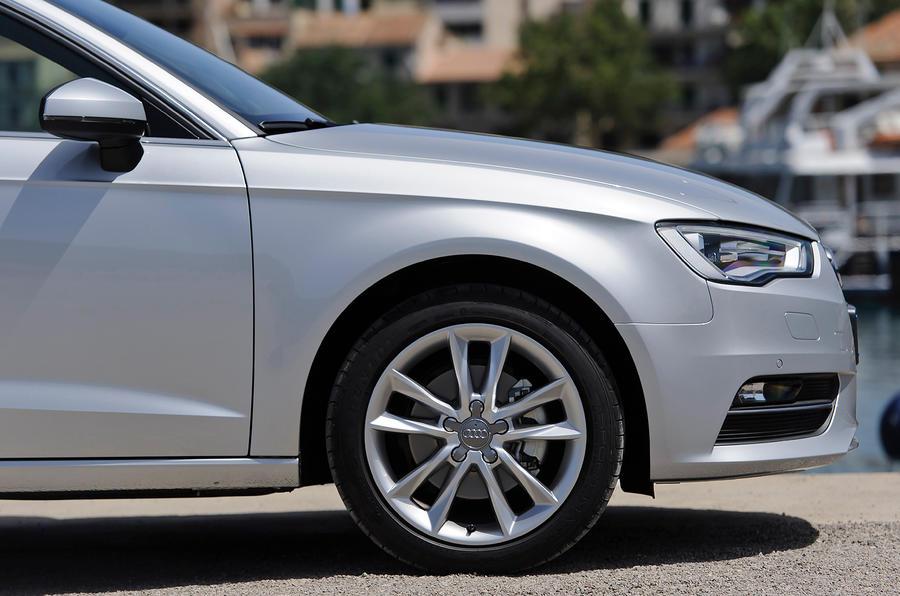 16in Audi A3 alloys