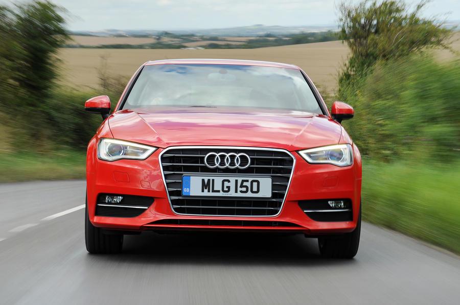 Audi A3 front end