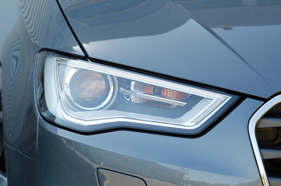 Audi A3's headlights