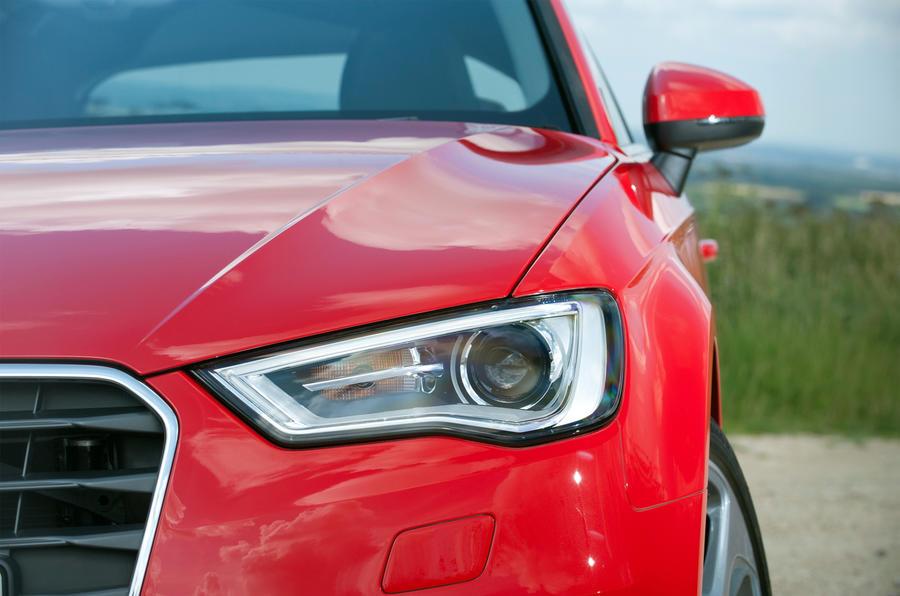 Audi A3 headlight