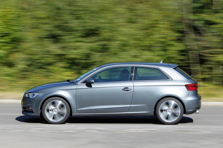Audi A3 in three-door form