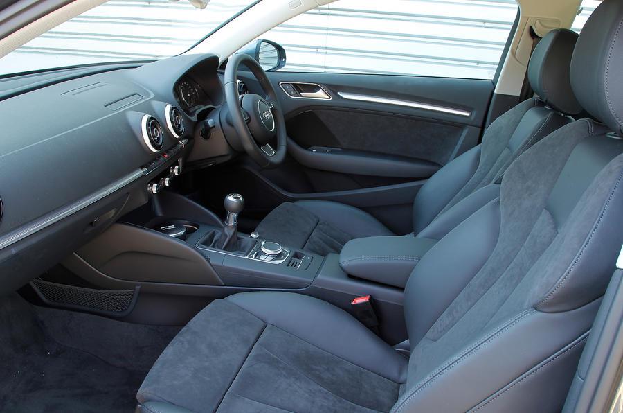 Audi A3 front seats