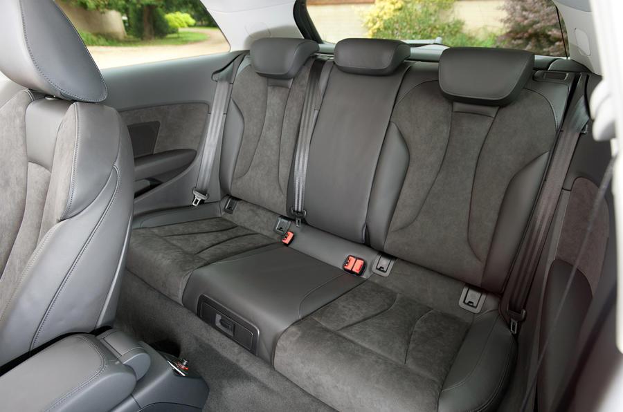 Audi A3 rear seats