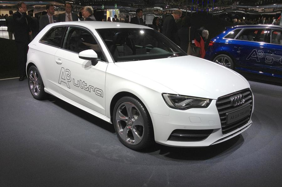 88mpg Audi A3 shown