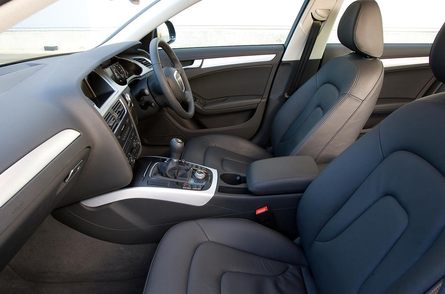Audi A4 front seats