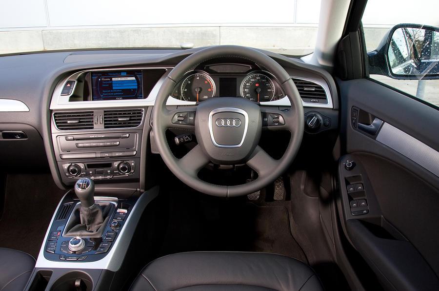 ... Audi A4 Interior ...
