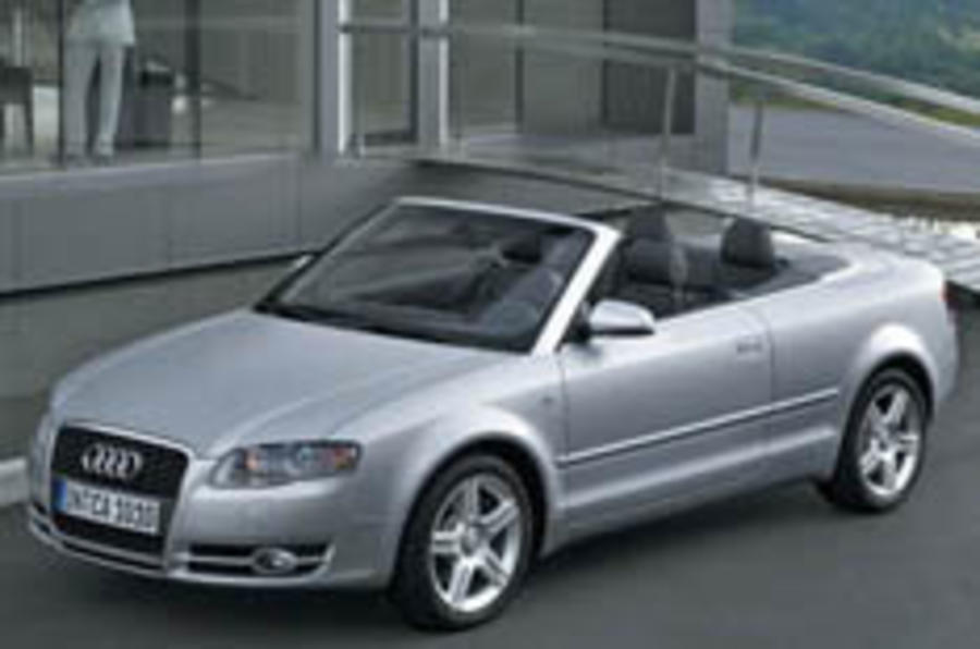 Audi Cabrio gets frugal