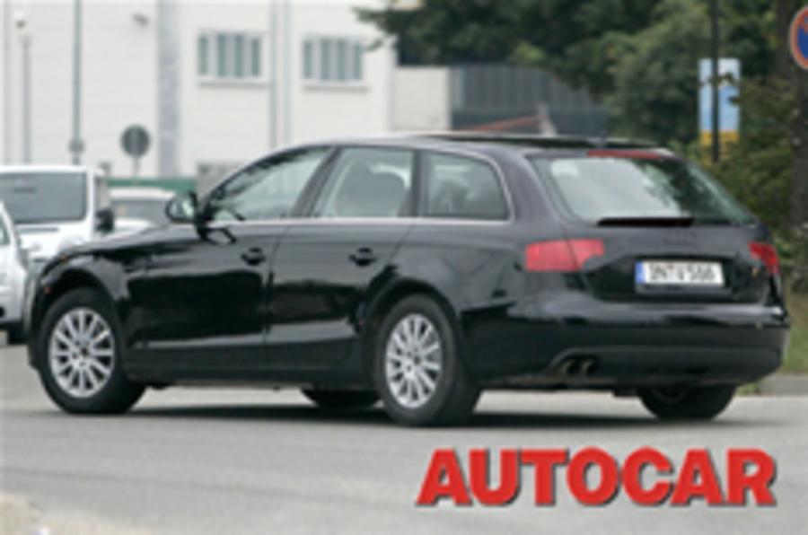 Audi's A4 Avant spied