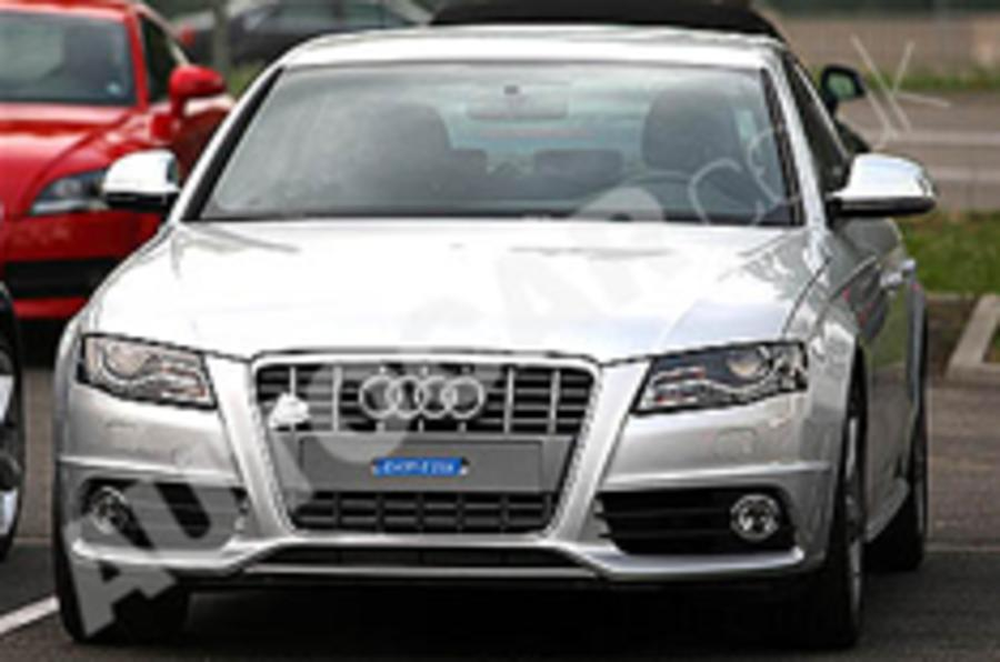 Audi S4 snapped undisguised