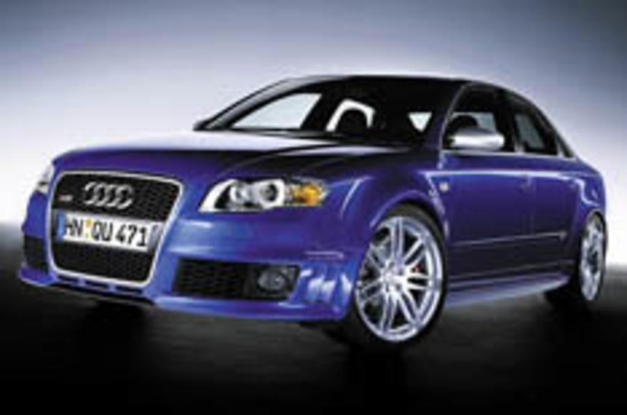 Audi RS4 guns for next M3