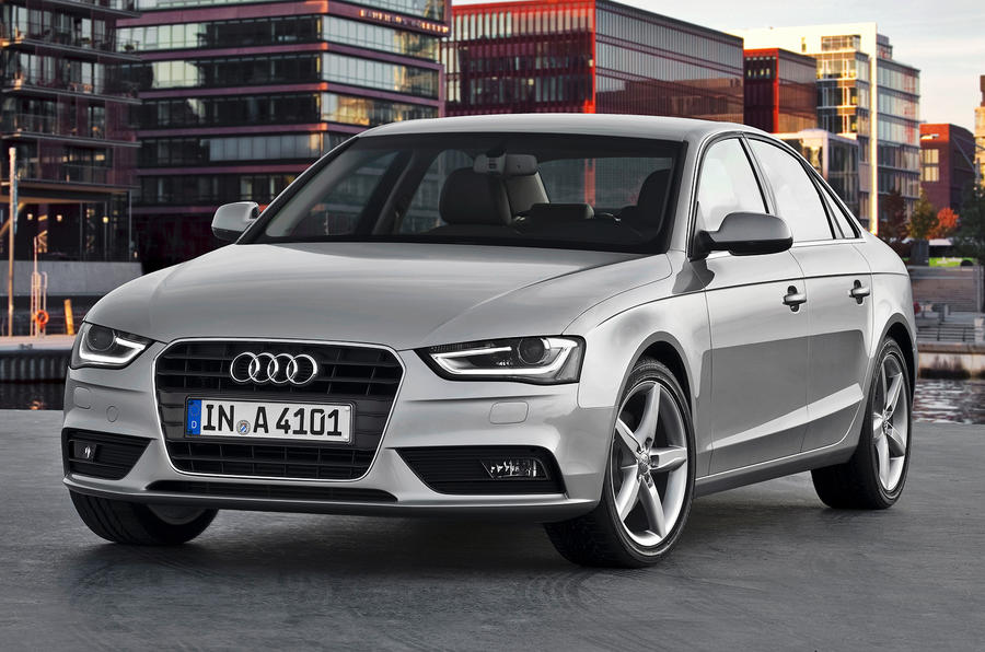 Audi A4 prices rise