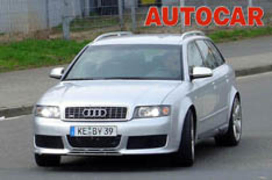 Hot RS4 estate on the way