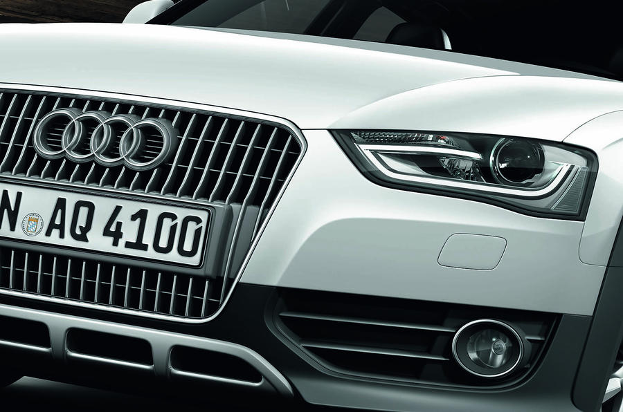 Audi A4 Allroad front grille