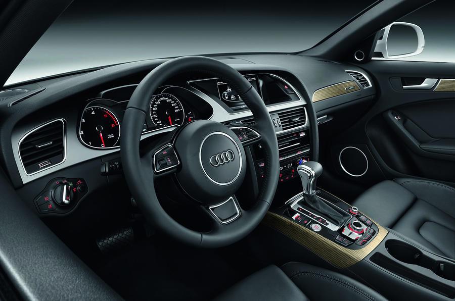 Audi A4 Allroad's interior
