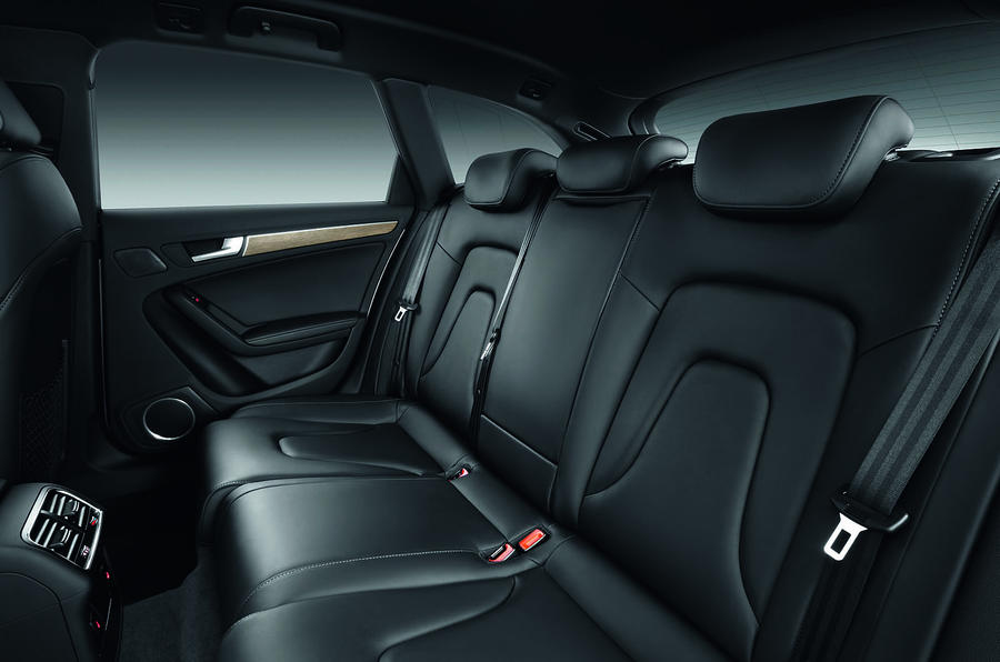 Audi A4 Allroad's rear seats
