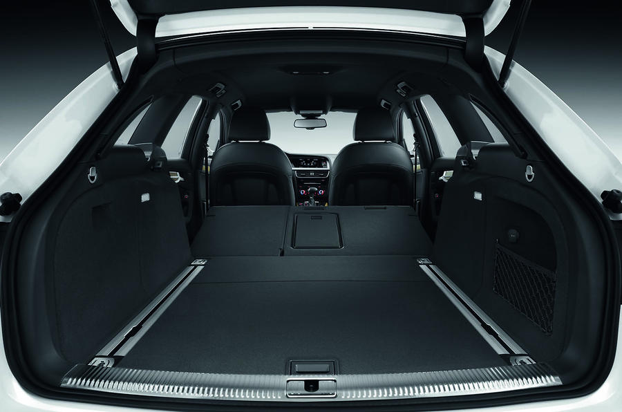 Audi A4 Allroad's boot space