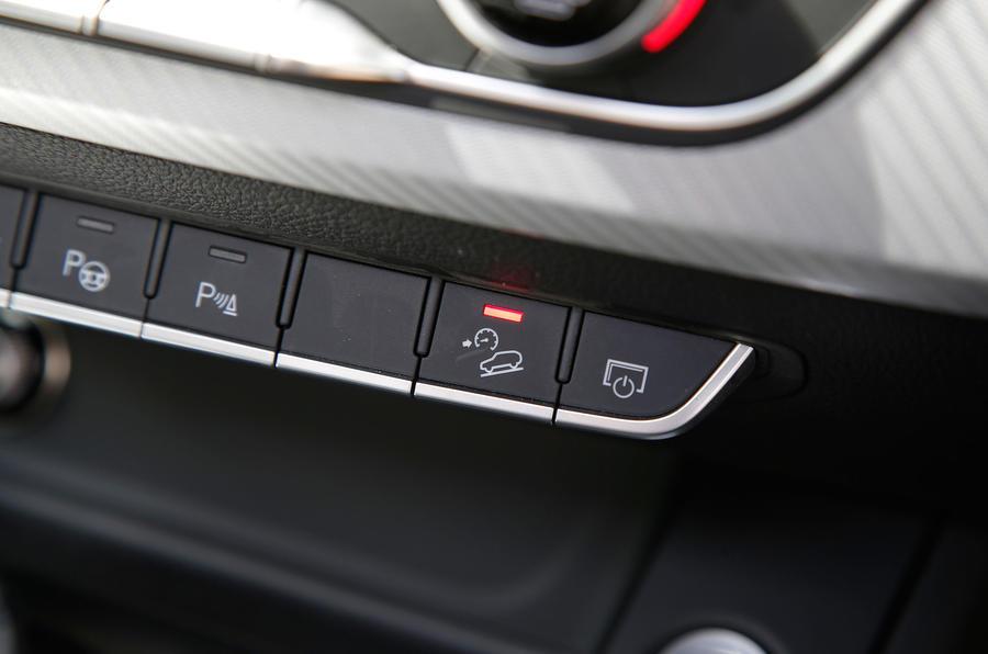 Audi A4 Allroad hill descent control