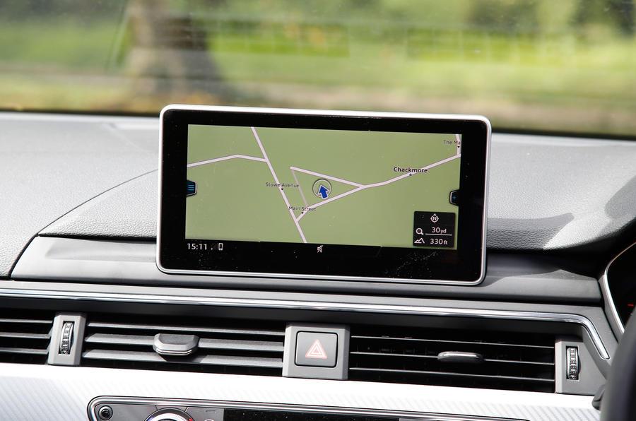 Audi A4 Allroad MMI infotainment