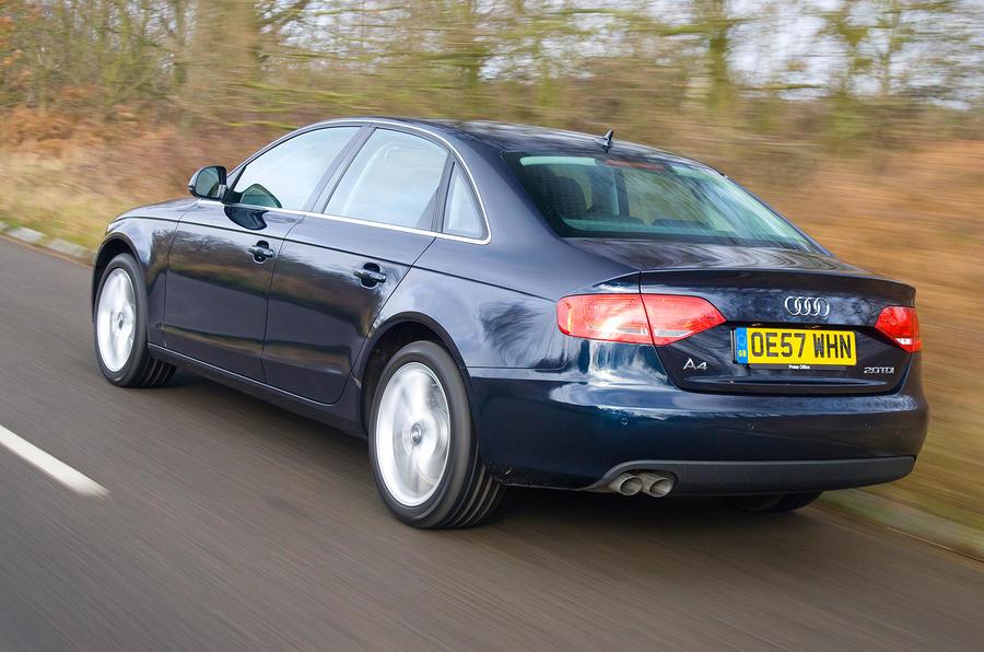 Audi A4 rear quarter