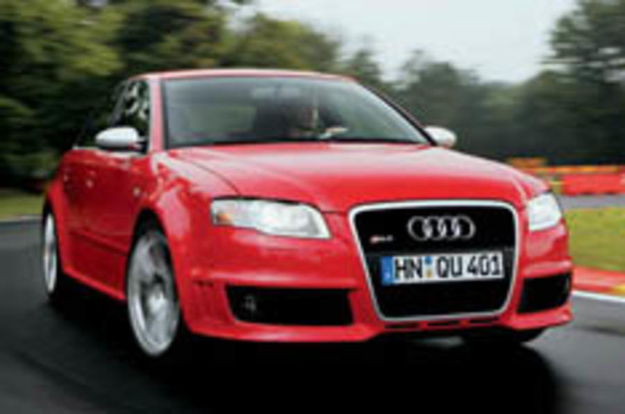 End of the line for Audi RS4