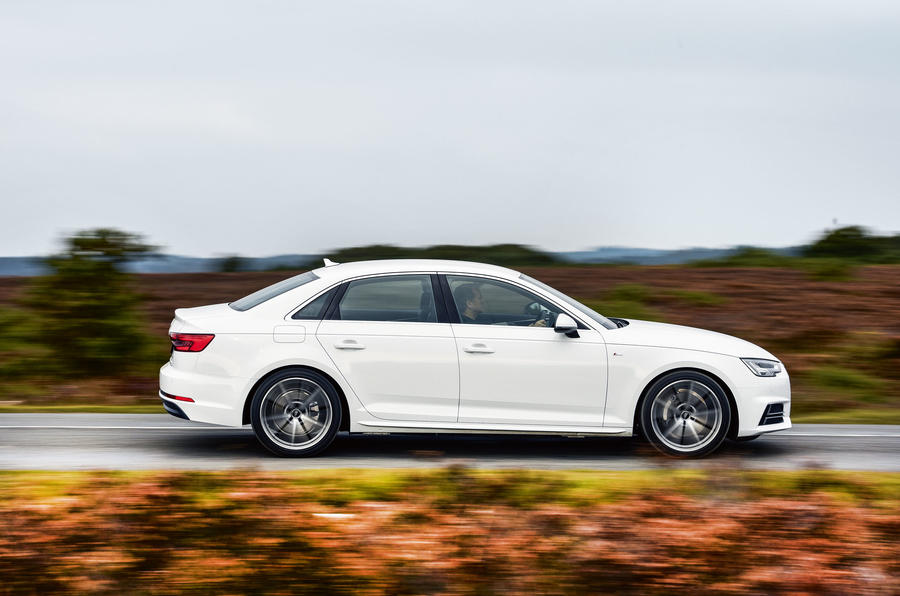 Our Audi A4's S Line spec took the edge off its cruising refinement