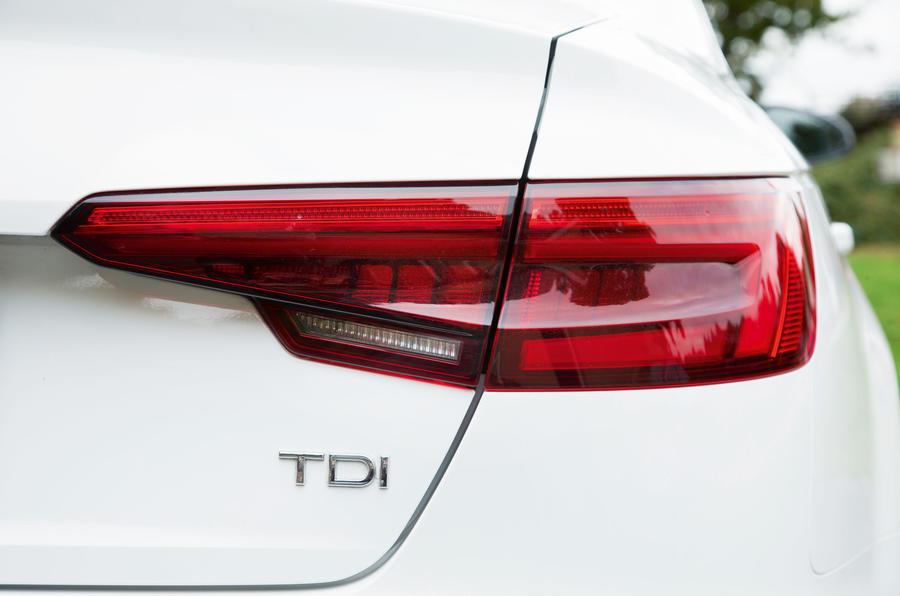 Audi A4 LED rear lights