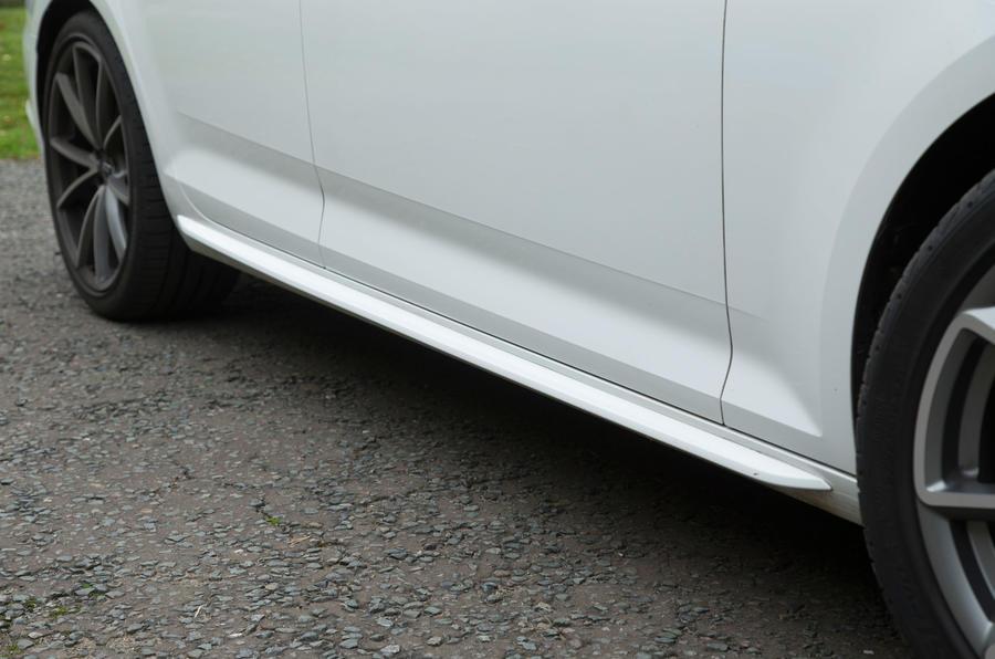 Audi A4 side sills