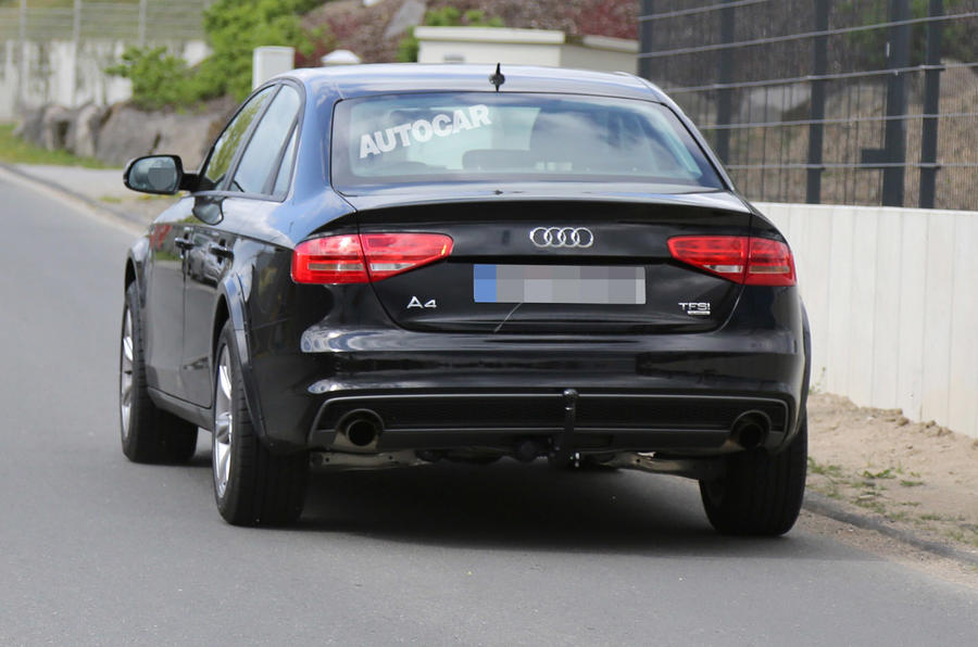 Next-gen Audi A4 - first pictures