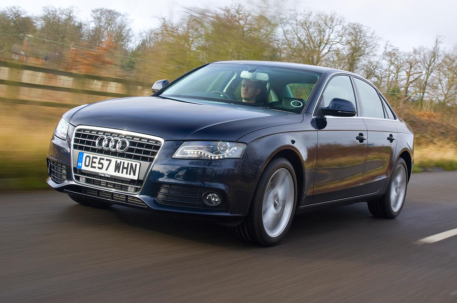 The Audi A4 saloon is bigger, roomier and more aerodynamic than its ...