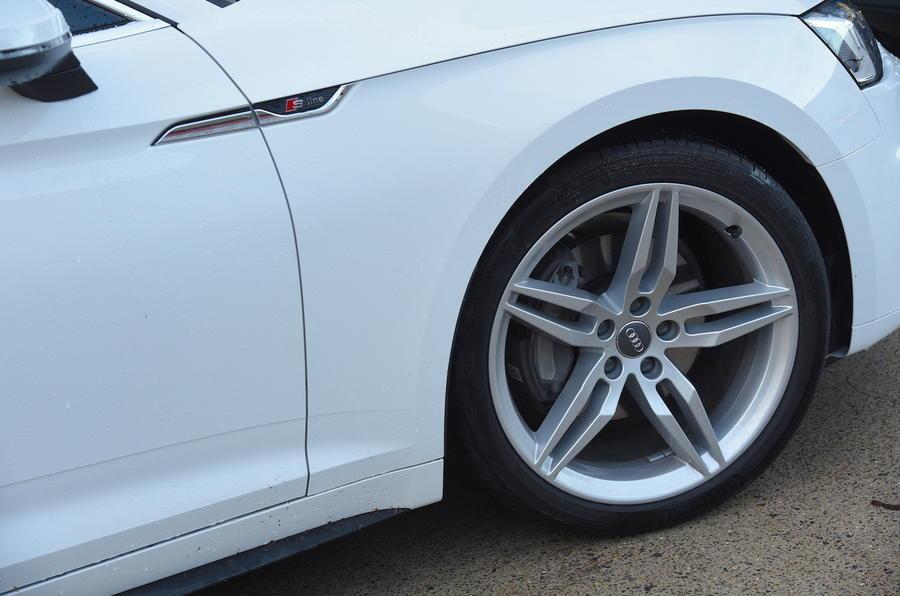 18in Audi A5 alloys