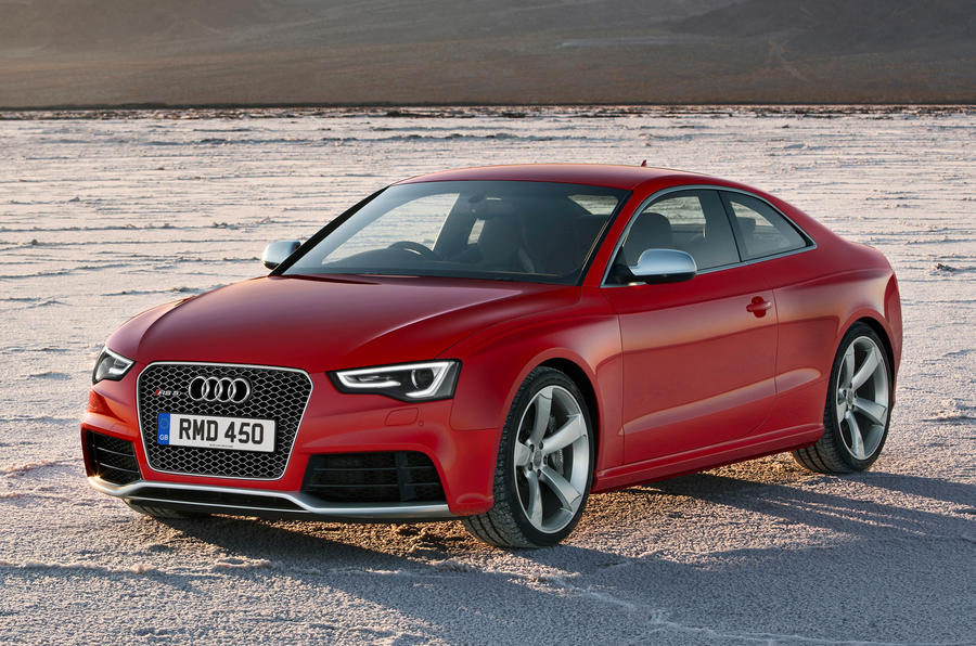 New Audi RS5 from £58,725