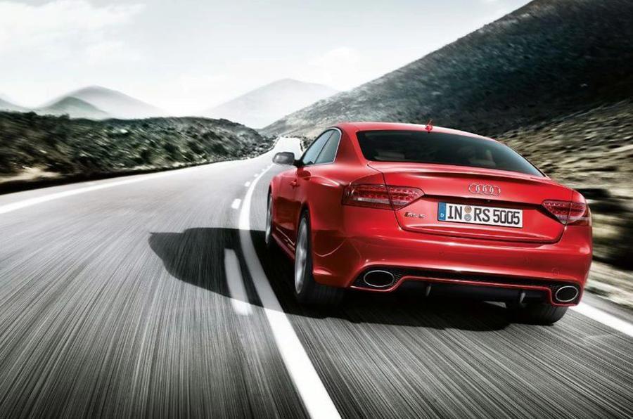 Geneva motor show: Audi RS5