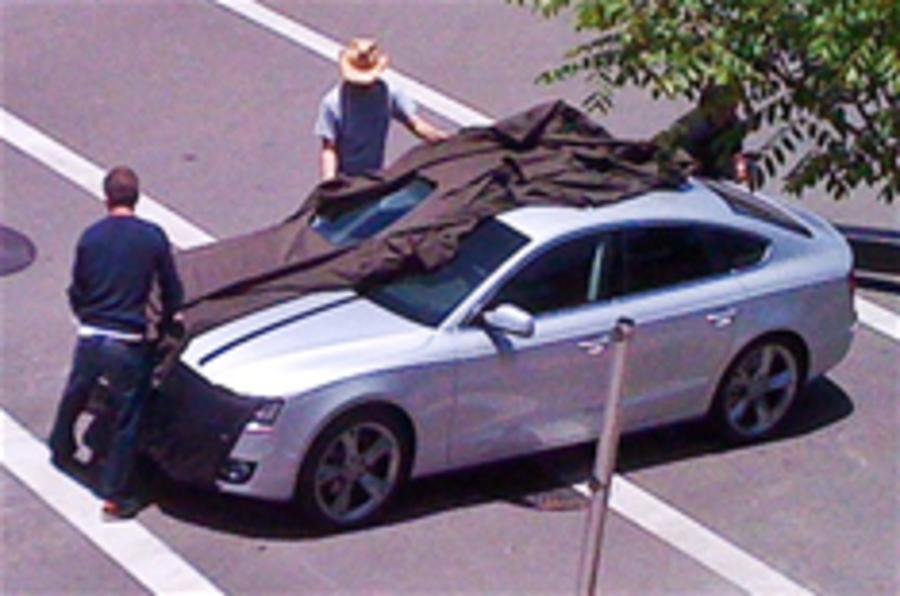 Audi A5 Sportback spied