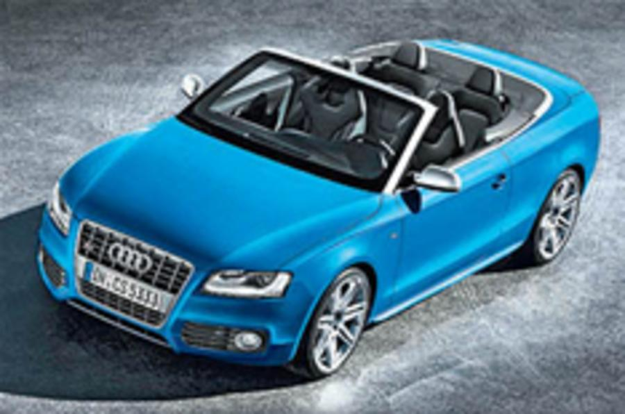 Revealed: Audi A5 Cabriolet