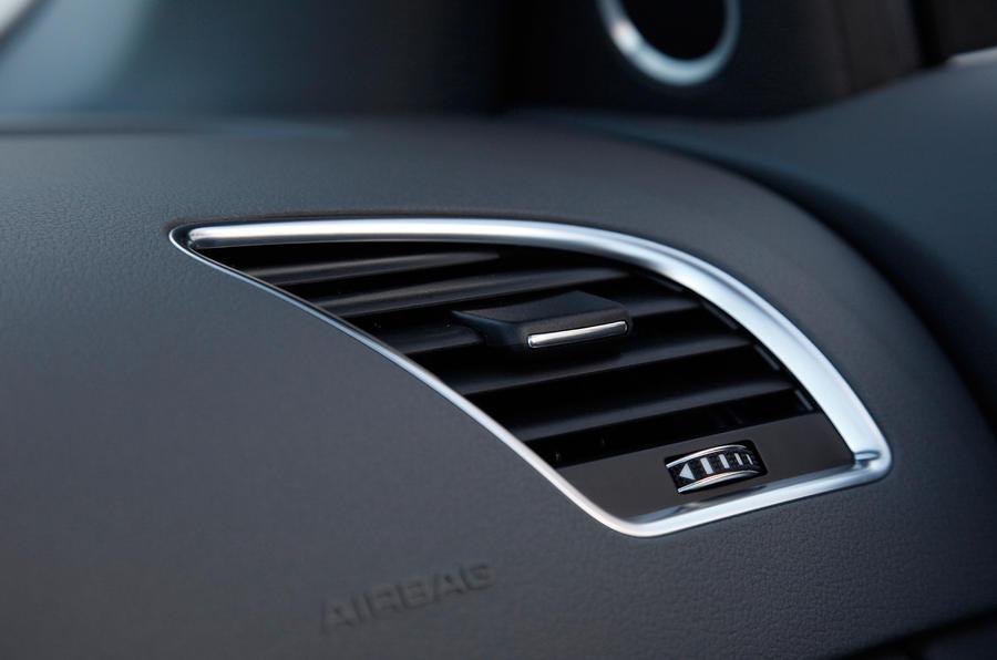 Audi A5 air vent