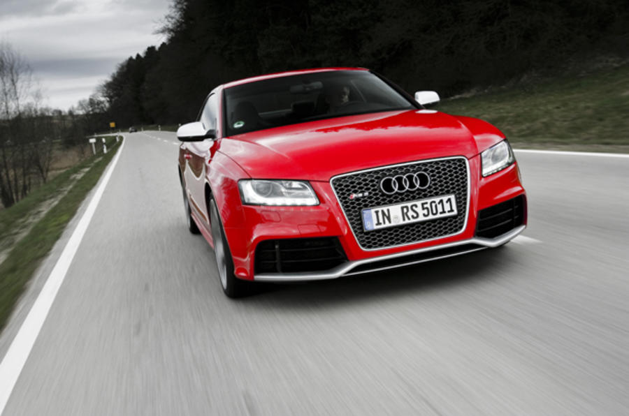 Audi RS5 on video