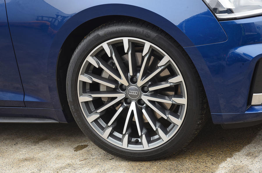 17in Audi A5 alloy wheels