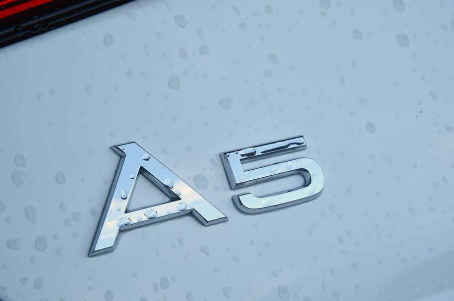 Audi A5 badging