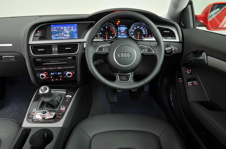 Audi A5 2007-2016 interior   Autocar
