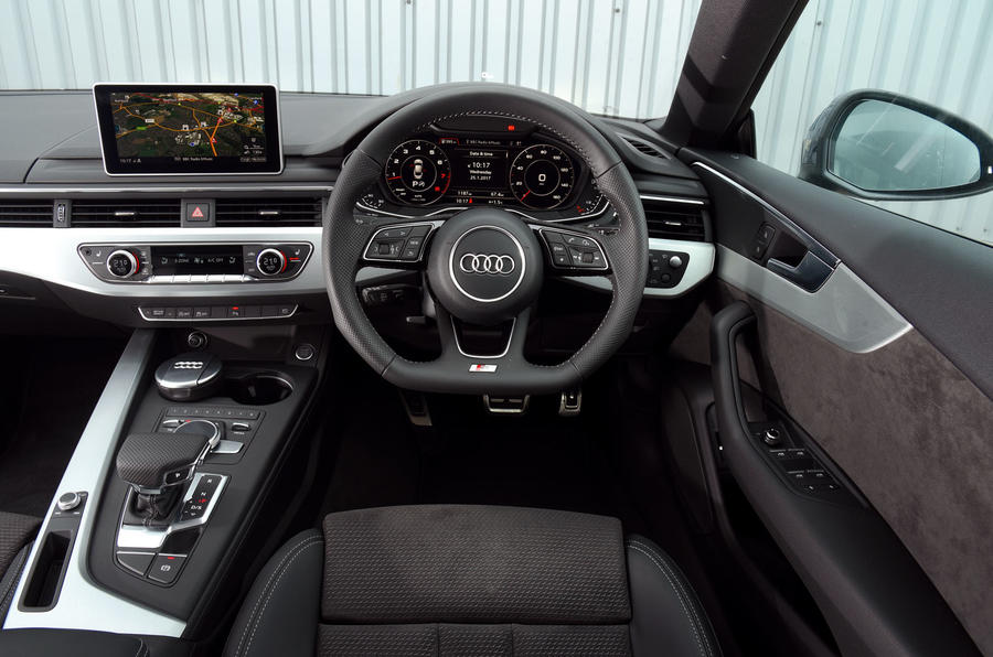 Audi A5 Interior Autocar
